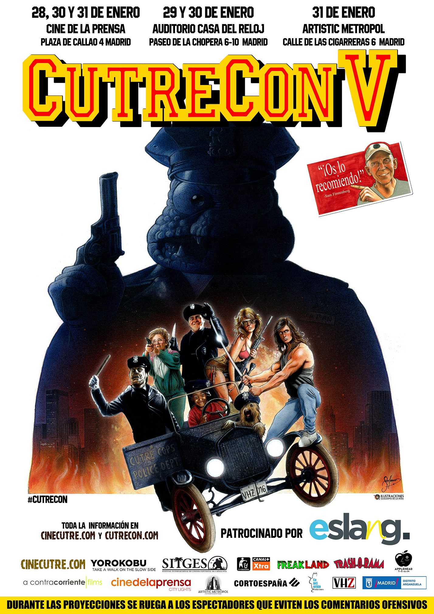 cartel CutreCon V web