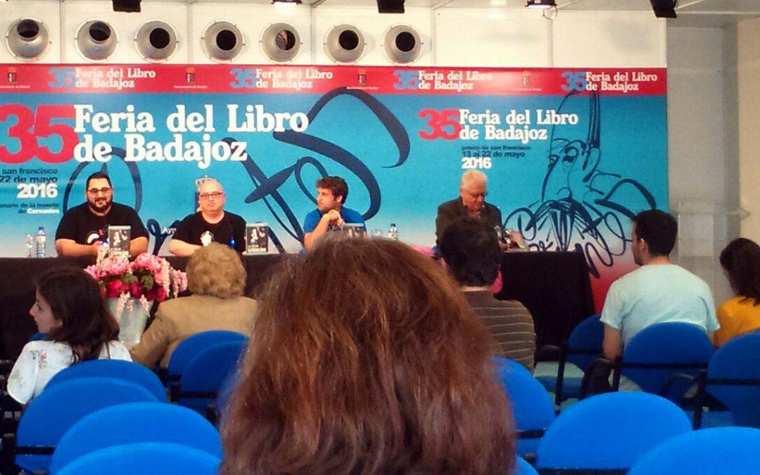"""Presentación de """"El fulgor efímero"""" en la 35 Feria del Libro de Badajoz"""