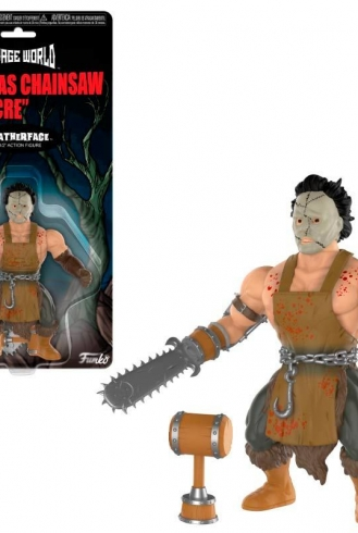 Figura action Savage World – Texas Chainsaw Massacre Leatherface