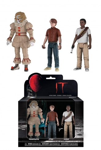 Figuras action It – Pennywise – Stan – Mike