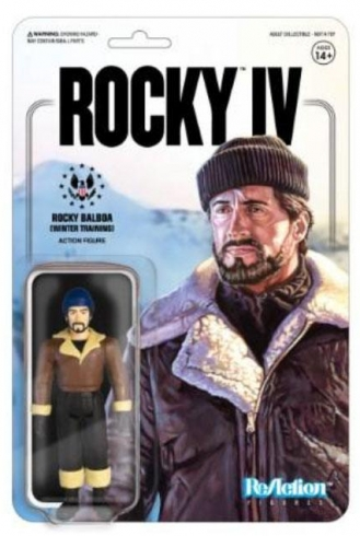 Rocky 4 Figura ReAction Rocky (Winter Training)