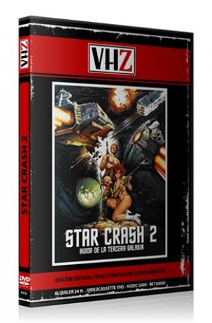 Star Crash 2: Huída de la Tercera Galaxia + Star babe
