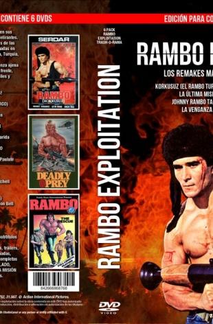 Pack 6 DVD Rambo Exploitation