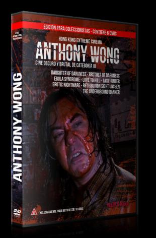 Pack 6 DVD HK Extreme Anthony Wong