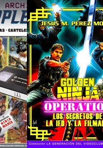 PACK MASTER NINJA: GOLDEN NINJA OPERATION + ARCHIVOS APPLEHEAD: IFD, FILMARK Y NINJAMANÍA