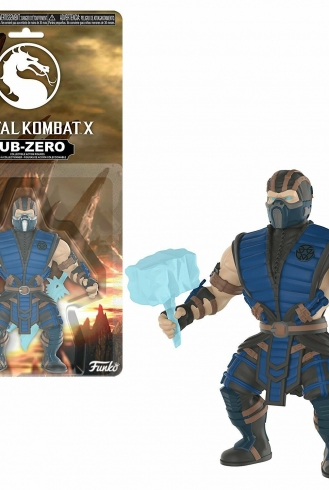 Funko – Savage World Mortal Kombat – Sub-Zero