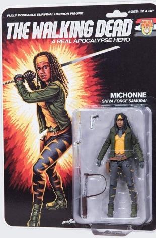 The Walking Dead – McFarlane – Shiva Force Samurai Michonne