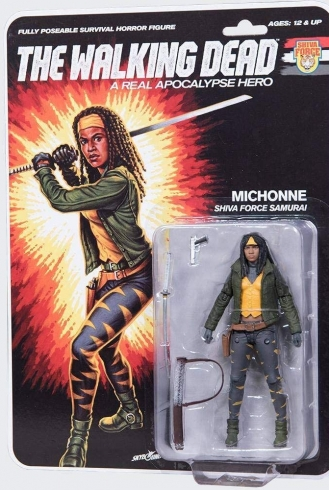 The Walking Dead – McFarlane – Shiva Force Samurai Michonne