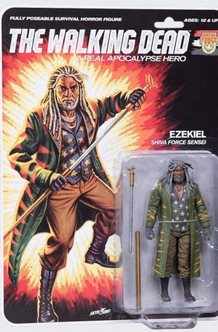 The Walking Dead – McFarlane – Shiva Force Sensei Ezekiel
