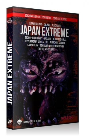 Pack 6 DVD JAPAN EXTREME