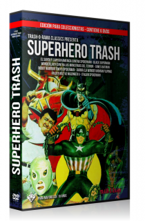 Pack 6 DVD Superhero Trash
