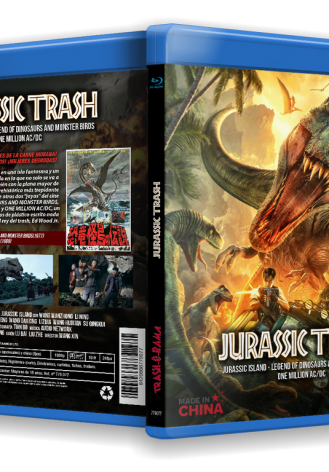 JURASSIC TRASH COLLECTION (JURASSIC ISLAND + LEGEND OF DINOSAURS & MONSTER BIRDS + ONE MILLION AC/DC