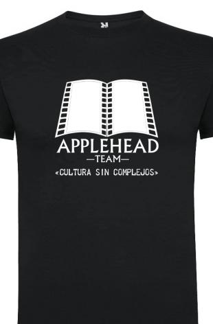 """Camiseta Applehead Logo Grande (Poner talla en """"Notas del pedido"""")"""