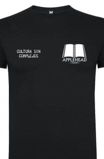 """Camiseta Applehead Logo Pequeño (Poner talla en """"Notas del pedido"""")"""