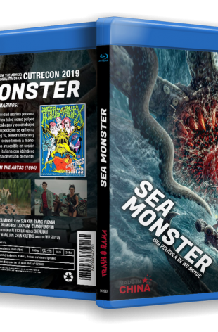 SEA MONSTER + PLANKTON (CREATURES FROM THE ABYSS)