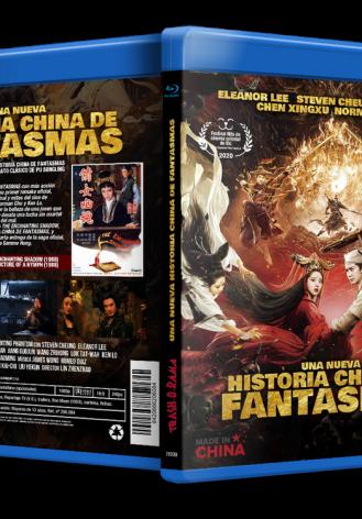 UNA NUEVA HISTORIA CHINA DE FANTASMAS + THE ENCHANTING SHADOW + PICTURE OF A NYMPH